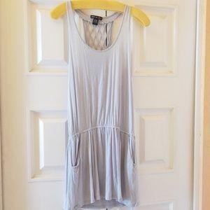 American Dream Tank Dress Gray